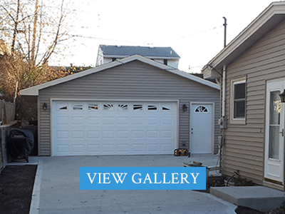 View our Garages
